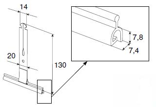 тяговая пружина SS1301
