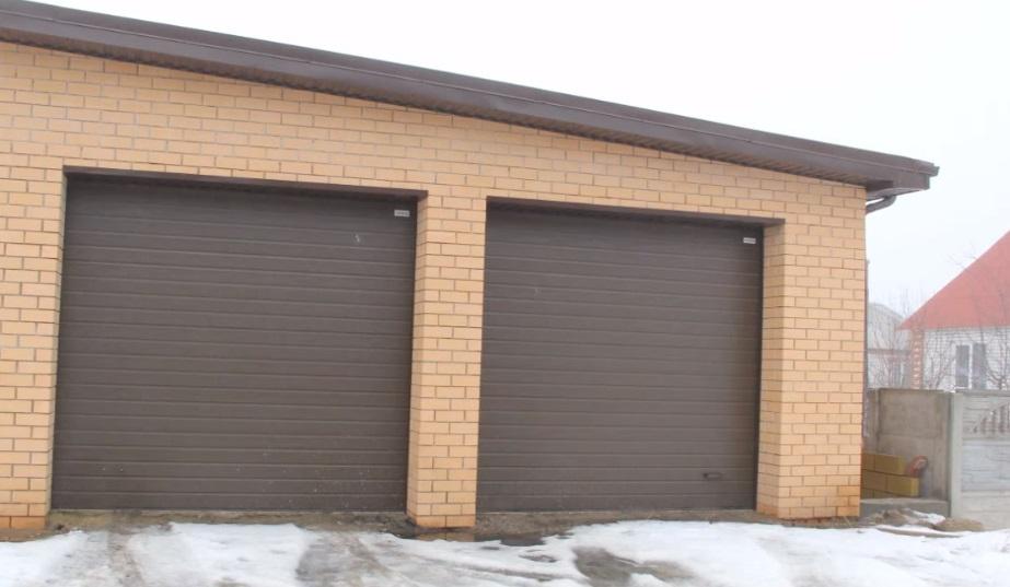 Рулонные ворота для гараж