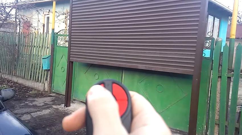Автоматические рулонные ворота