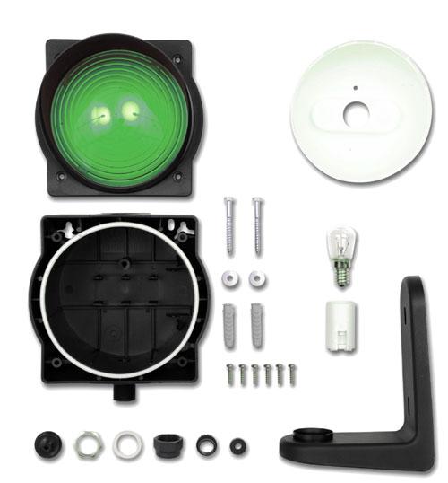 Лампа сигнальная зеленая