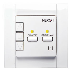 Диммер Nero II 8421-50 до 300Вт, 220В, с лицевой панелью