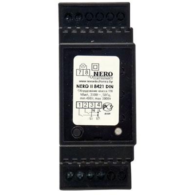 Диммер Nero II 8421 DIN до 300Вт, 220В, на DIN-рейку