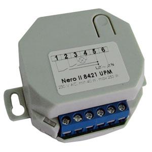 Диммер Nero II 8421 UPM до 300Вт, 220В, во встраиваемом корпусе