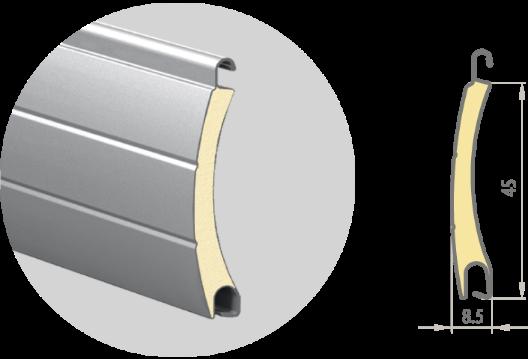 Профиль роллетный PD/45N