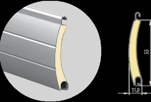 Профиль роллетный PD/55mN