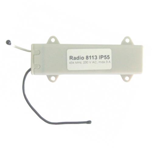 Radio 8113 IP55 Радиоуправление одноканальное в короб