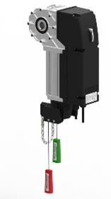 Комплект автоматики Alutech для автоматизации промышленных секционных ворот серии TARGO-400