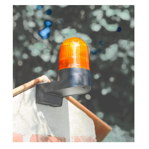 Сигнальная лампа светодиодная желтая Control 950