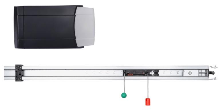 Электропривод Marantec, модель Comfort 50, для гаражных секционных ворот